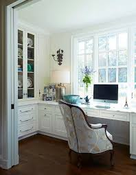 best flooring for home office. Traditional Home Office. Office With Built In Desk Painted Cantley White And Best Flooring For