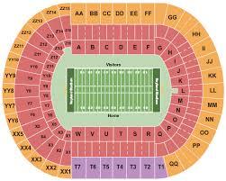 neyland stadium seating chart rows