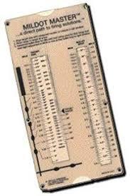 Mildot Master Chart Amazon Com Accuscope 1 8 Moa Scope Sighting Tool Chart