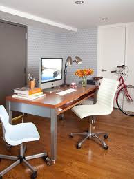 Home office design cool office space Layout Multipurpose Workspace Home Office Hgtvcom Decorating Ideas For Small Bedroom Or Home Office Hgtv