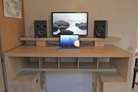 diy standing desk cinder block. Fine Desk Ikea Sells A Variety Of Different Table And Desk Legs As Well Tops  That You Can Mix Match To Create Your Own Standing Desk With Diy Standing Desk Cinder Block L