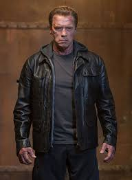 the jacket of arnold schwarzenegger in terminator genisys