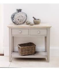 small console table. Florence Console Table With 2 Drawers - Truffle Small O