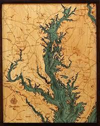 Wood Bathymetric Charts