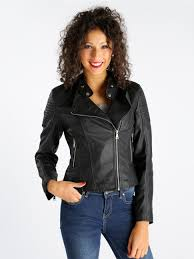 defox eco leather jacket with hinges and tops mec ping