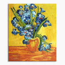 art oil painting van gogh hand painted painting starry night sunflower abstract painting wall oil painting