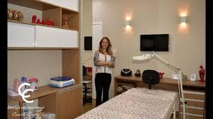 Para uma sala pequena, uma boa dica de decoração é a aplicação de tons claros a fim de criar uma sensação de. Sala Da Esteticista Youtube