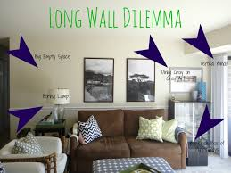 decorating a long living room simple decorating long wall decor ideas erikaemeren intended decorating a