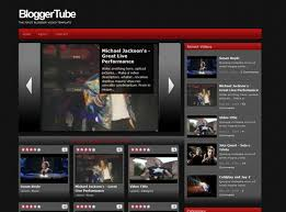 Blogger Tube Blogger Template Blogger Themes And Blogger Templates