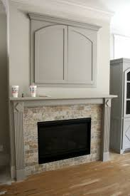 awesome tile around fireplace insert interior decorating ideas