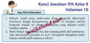 Try the suggestions below or type a new query above. Kunci Jawaban Ipa Kelas 8 Halaman 10 Ayo Kita Selesaikan Wali Kelas Sd