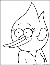 Regular Show Coloring Pages - Bltidm