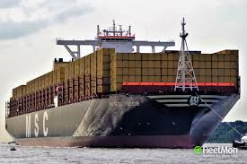 mega container ship lost 270 containers in north sea dangerous cargo update new pics