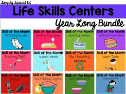 best life skills ideas life skills activities  life skills centers year long life skills bundle
