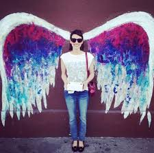 angel wings wall art los angeles address