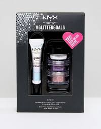 nyx professional makeup. nyx professional make up asos exclusive glitter goals - party nyx makeup