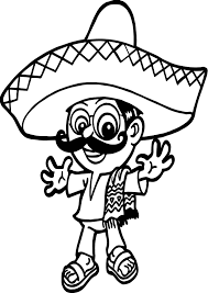 Small Picture Mexico Man People Coloring Page Wecoloringpage