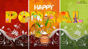 Happy Thai Pongal Wallpapers Free ...