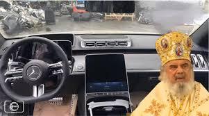 Primele fotografii cu noul Mercedes S-Class au scăpat pe internet ! Cu tot cu Patriarhul Daniel înăuntru