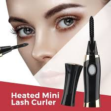 Eyelash Brush Rechargeable Mini Lash Curling Heated Eyelash Curler
