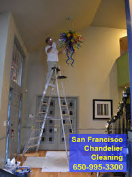 chandelier cleaning san francisco