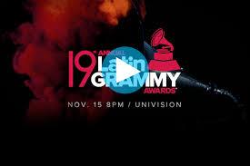 Premios Latin grammy 2018 EN vivo
