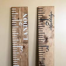 Baby Chart Cool Growth Chart Baby Shower Gift Height Chart Nursery Etsy