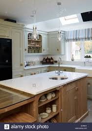 Modern Traditional Kitchen Traditional Kitchen With Modern Tap And Sink In Breakfast Bar
