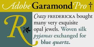 Download Garamond Adobe Garamond Pro Font Download Fonts Garamond Font