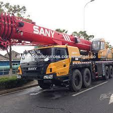 China Crane Truck 80 Ton Sany Brand New Hydraulic