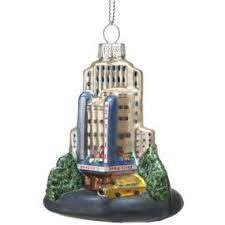 NYC Landmarks: Rockefeller Center Christmas Ornament