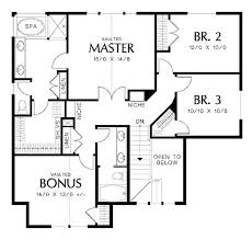 Wonderful Floor Plans for Homes Using Smart Draw Floor Plan    Wonderful Floor Plans for Homes Using Smart Draw Floor Plan Displaying Master Bedroom near   Staircase