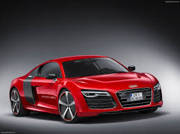 red audi r8 wallpaper. Exellent Red New Latest Red Audi R8 E Tron 2013 Concept Car Wallpaper With