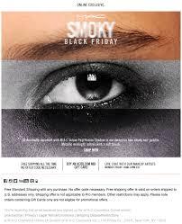 mac cosmetics black friday ad scan page 1