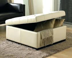 home and furniture fabulous cream storage ottoman on colored leather cream storage ottoman thejobheadquarters