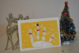 Fingerprint Christmas Cards For Kids To MakeChristmas Card Craft Ideas