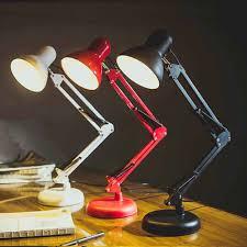 Đèn Học Để Bàn Pixar Có Đế Tự Đứng Và Kèm Kẹp Bàn, Kèm Bóng Led Siêu Sáng