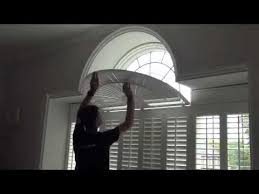 Inspiration Idea Arched Window Blinds With And BlindsSemi Circle Window Blinds