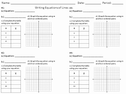 graphing linear equations worksheet best of graphing linear equations using a table worksheet worksheets for all