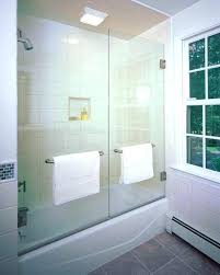 glass tub door awesome best bathtub enclosures ideas on doors for shower frosted bathroom home depot