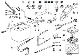original parts for e i m touring engine electrical system original parts for e39 528i m52 touring engine electrical system battery cable 3 estore central com
