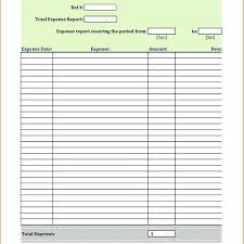 Expense Receipt Template Best Expense Report Template Petty Cash Thewokco