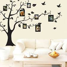 photo frame vinyl wall stickers tree