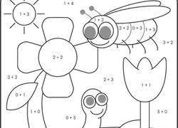 1st Grade Color By Number Coloring Pages Printables