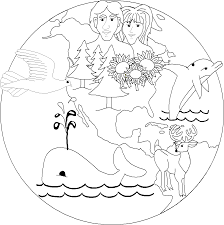 creation coloring sheet coloring page creation