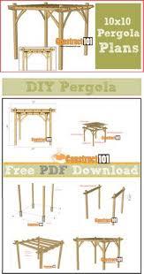 pergola design. 10x10 pergola plans pdf download design