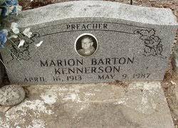 """Marion Barton """"""""Preacher"""""""" Kennerson Sr. (1913-1987) - Find A Grave Memorial"""