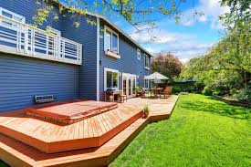 Railings On A Platform Deck Are Purely Ornamental And Stairs Arenu0027t Necessary Thereu0027s Lot Of Design Options For Deck