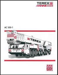 Terex Demag Load Chart Bsh Cranes