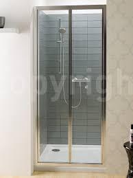 simpsons edge bi fold shower door 900mm esc0900